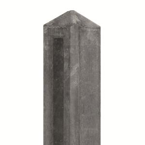Berton©-paal gecoat, diamantkop 10x10x145cm hoekmodel