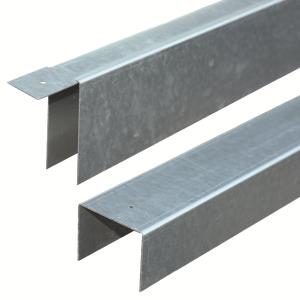 Verzinkt U-profiel 29mm tbv betonsysteem