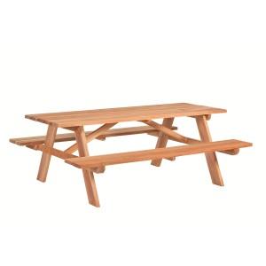 Hardhouten picknicktafel Business