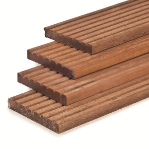 Hardhouten vlonderplank 2.5x14.5x485cm