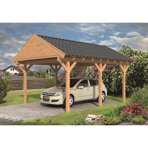 DHZ Carport Zadeldak Workum 430x600cm basis incl. schroefpakket